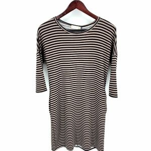 NWT $70 Altard State Stripe Dress Button Back XS